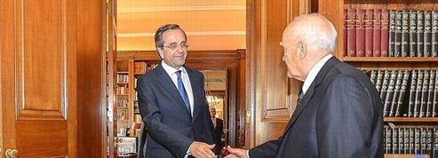 Antonis Samaras devient premier ministre en Grèce