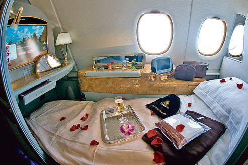 Des sièges plus sophistiqués, chez Airbus et Boeing