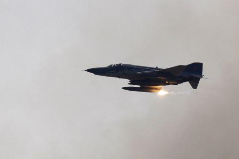 L'avion de combat de type F-4 s'est abîmé en mer à 15 km de Lattaquié, en Syrie