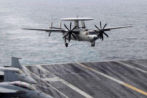 La démonstration de force de l'US Navy en mer Jaune