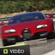 Bugatti Veyron Vitesse à 330 km/h