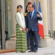 Tapis rouge à Paris pour Aung San Suu Kyi