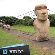 Ile de Pâques : les statues auraient marché