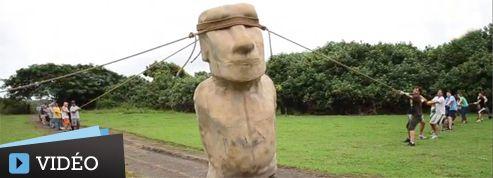 Les statues de l'île de Pâques auraient «marché»