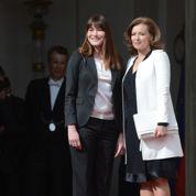 Carla et Cécilia épinglent Valérie Trierweiler