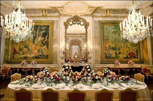 à Waddesdon Manor Chez Lord Rothschild