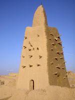 L'une des mosquées de Tombouctou.