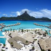 Un hôtel de Bora Bora refroidi par la mer