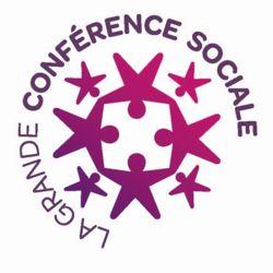 Le logo de la grande conférence sociale qui se tiendra les 9 et 10 juillet.