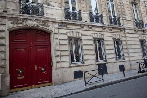 Les bureaux de la rue de Miromesnil, à Paris, mis à la disposition de l'ancien chef de l'État.