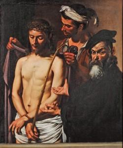 <i>Ecce Homo</i>, vers 1605, Le Caravage, sensualité et clair-obscur, à Montpellier.