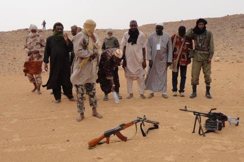 Les islamistes d'Ansar Dine, ici près de la ville de Gao, au Mali.
