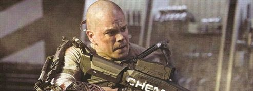 Matt Damon, chauve, tente de sauver le monde dans Elysium