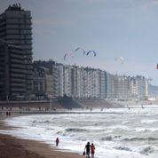 Les plages belges contre un site météo