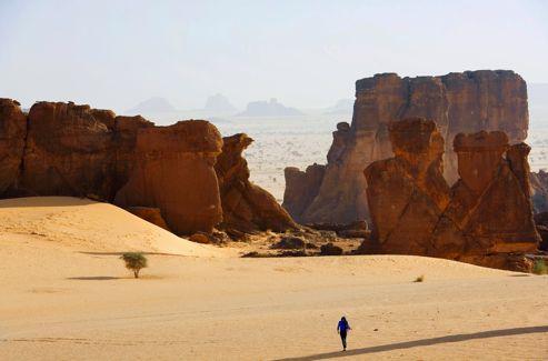 Le massif de l'Ennedi est l'un des plus beaux déserts du monde. Erodés par le vent, les rochers se dressent comme autant de gardiens aux formes spectaculaires. Une nature intacte où vagabondent les idées et se ressource l'âme.