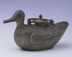 Théière en forme de canard.