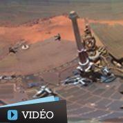 Mars : spectaculaires images de la Nasa