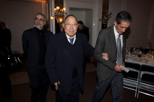 Dalil Boubakeur, le recteur de la Grande Mosquée de Paris lors du dîner du Crif, en février dernier, à Paris.