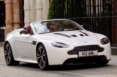Aston Martin V12 Vantage: au tour du roadster