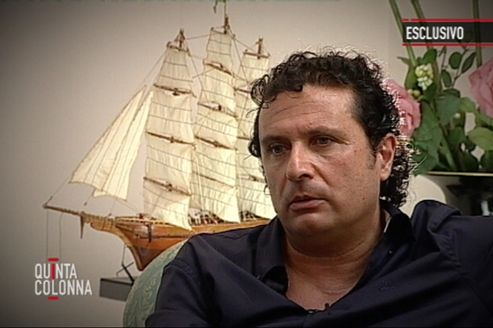 L'interview du commandant du Concordia choque l'Italie