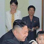 Une femme mystérieuse avec Kim Jong-un