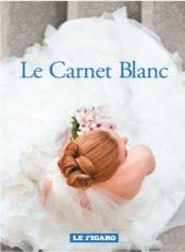 La couverture du Carnet Blanc