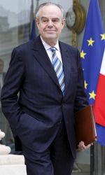 Frédéric Mitterrand à la sortie du conseil des ministres en février dernier.