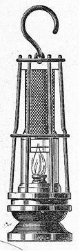 Une lampe de Davy.