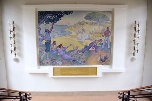 À Montreuil : bataille autour d'un tableau de Paul Signac
