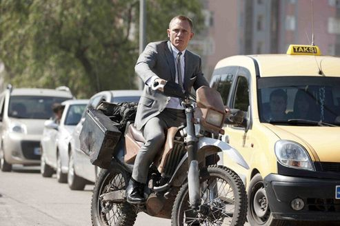 Skyfall : des images de James Bond en pleine action