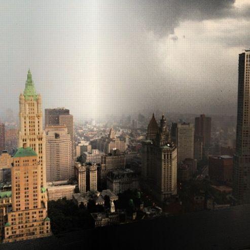 Photo prise depuis le 53e étage du One Liberty building à Manhattan / par @michienyc
