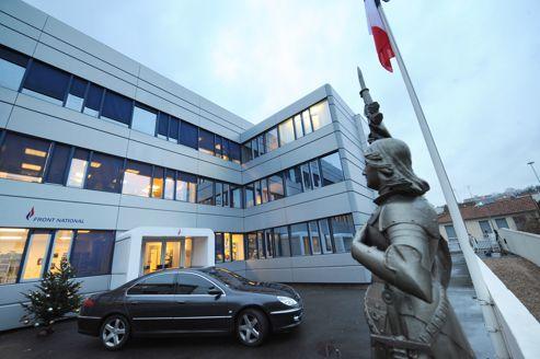 L'actuel siège du Front national à Nanterre. Ces locaux sont actuellement difficilement accessibles .