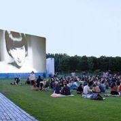 Cinéma en plein air à la Villette