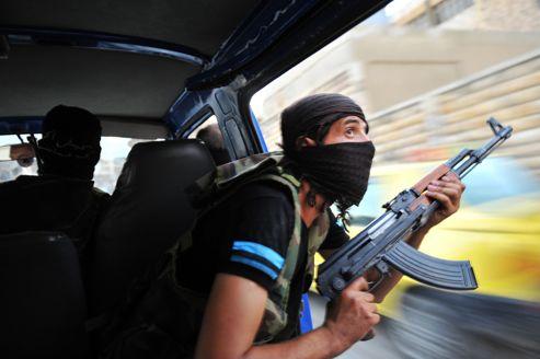 Rebelles Syrie