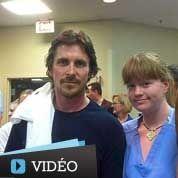 Christian Bale a visité les blessés de Denver