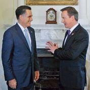 La bourde de Romney en visite à Londres
