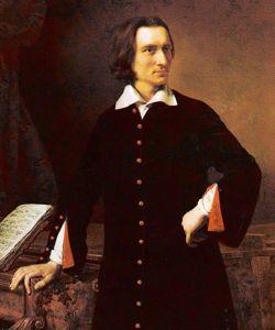 Peint par Barabas, le beau Liszt était, à 37 ans, l'idole des femmes.