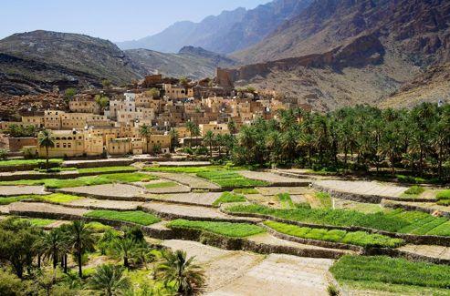 Dans le secret des vallées, on entretient toujours le «culte des palmeraies» grâce aux aflaj, ingénieux système d'irrigation.