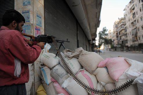De nombreux insurgés sont retranchés dans les quartiers sud de la ville.