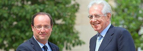 Hollande et Monti : «Tout faire pour préserver l'euro»
