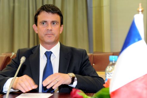 Manuel Valls à Rabat, au Maroc, le 26 juillet.