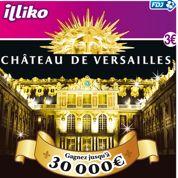 Versailles devient un jeu à gratter