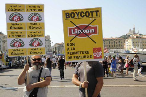 Unilever cède l'usine Fralib