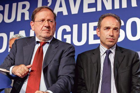 S'appuyant sur les travaux d'Hervé Novelli (à gauche), Jean-François Copé a inscrit la sortie des 35 heures il y a plus d'un an au programme de l'UMP.