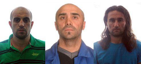 Les trois suspects arrêtés seraient un Turc et deux ressortissants d'un pays d'Asie centrale, sans doute la Tchétchénie.