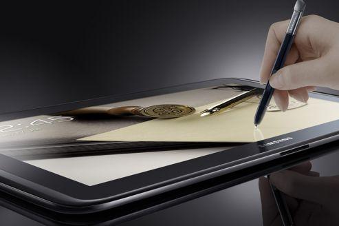 Tablettes : Samsung toujours à la poursuite d'Apple