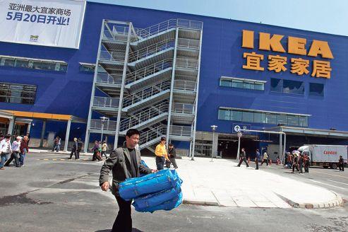 Ikea négocie son entrée en Inde