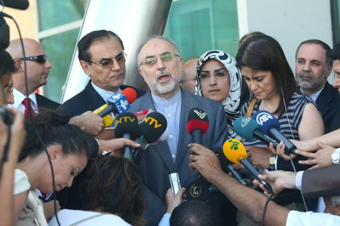 Le ministre iranien des Affaires étrangères, Ali Akbar Salehi, Téhéran a reconnu mercredi que des membres des gardiens de la révolution et de militaires «à la retraite» faisaient partie des otages de l'ASL.