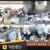 Une vidéo de la réunion de crise à Fukushima