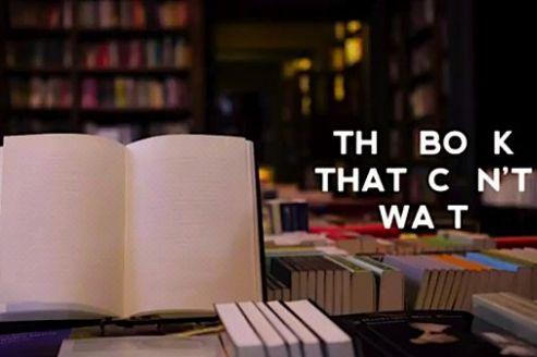Le livre dont la lecture ne peut être reportée à plus tard